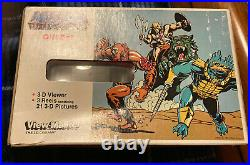 Vintage He-man Masters Of The Universe Viewmaster Gift Box Set Sealed 1983 Rare