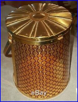 Vintage Majestic Fishnet Lucite Box Purse 1950s Rare