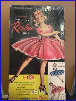Vintage Miss Revlon Doll Ideal Toys Rare in Original Box With Tag