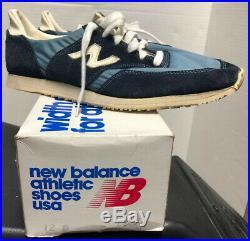 Vintage New Balance Comp 100 Mens Sz 12 USA Made With Original Box Rare NIB NOS