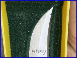 Vintage Puma 6393 Skinner Knife With Stag Handle Sheath Mint Original Box Rare