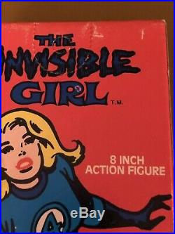 Vintage Rare 70s All Original Mego Boxed Old Store Stock Invisible Girl (MIB)