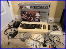 Vintage Rare Commodore VIC 20 Personal Computer In Original Box