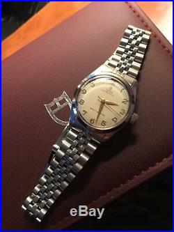 Vintage Rare Original Luxury Rolex Tudor Oyster Royal 7903 Manual Wind With Box