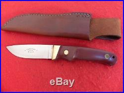 Vintage Schrade USA made Custom Hunter 173 full tang knife in box withCOA RARE