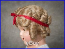 Vintage Shirley Temple Composition Doll 1930s 18 Very Rare Original Box
