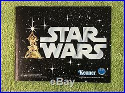 Vintage Star Wars Early Bird ORIGINAL BOX TRAY & BOOKLET PARTS 1977 KENNER RARE