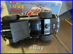 Vintage Taiyo EMPI Love Bug in Original Box Rare Tin Toy