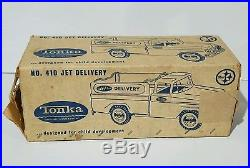 Vintage Tonka Jet Delivery truck with original box very rare 1962 toy