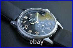 Vintage Watch 1-MCHZ WW-2 Militare Pilot Moda CalPobeda Zim-2602-03 Rare