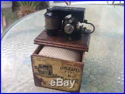 Voltamp Electric Motor Type D In Original Box Runs Great! Rare Version