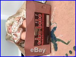 Vtg RARE Eden Bebe 15 1940s SFBJ Paris France Jointed All Original with Box NIB