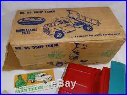 WOW 1961 SUBSTITUTE Tonka Toy from GREEN GIANT MEGA RAREMINT IN ORIGINAL BOX
