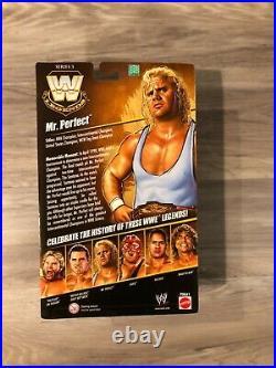 WWE Elite Legends Series 3 Mr. Perfect New! MOC! RARE! Excellent Condition