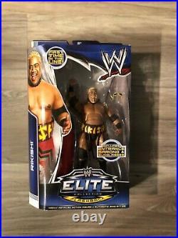 WWE Elite Rikishi (Black) Series 27 NEW! MOC! RARE! Excellent Condition