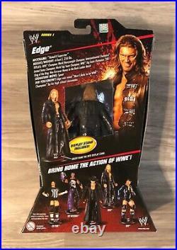 WWE Elite Series 1 Edge Rated R Superstar New! MOC! Rare