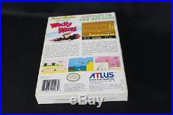 Wacky Races 1991 Nintendo NES Box & Instruction Manual No Game Rare