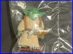 Yoda Lili Ledy Sealed Vintage Star Wars 1984 Rare Kenner Employee Only Baggie