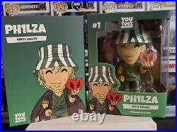 Youtooz Collectibles Ph1lza Philza #1 Minecraft Vinyl Figure Rare New Unopened