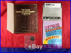 Zork Trilogy Infocom Big Box With Original ZORKMID still sealed RARE